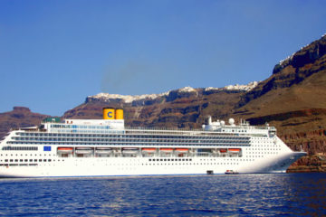 Cruises to Santorini