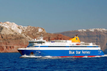 Ferries to Santorini