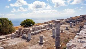 Ancient Thira, Mesa Vouno, Santorini