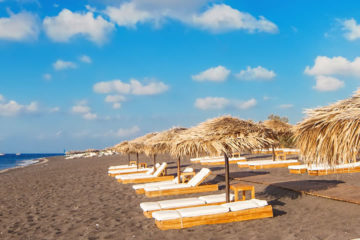 Santorini accommodation, beach hotels