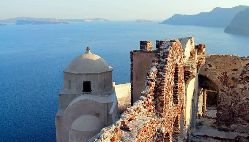 Oia Castle, Santorini