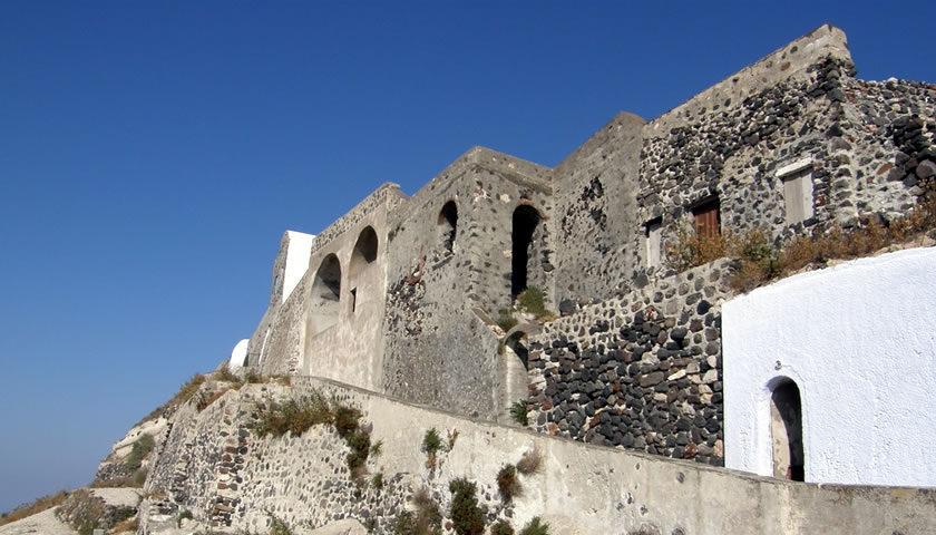 Pyrgos Castle, Santorini