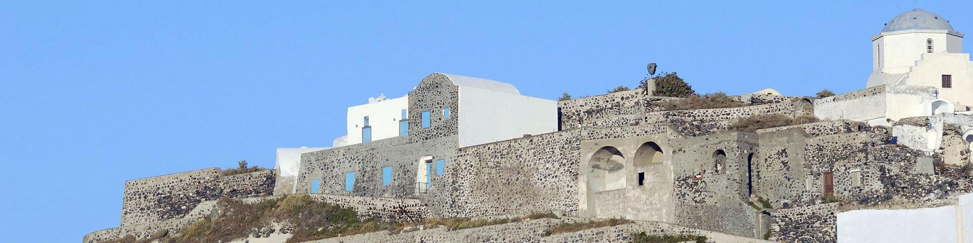 Santorini Castles