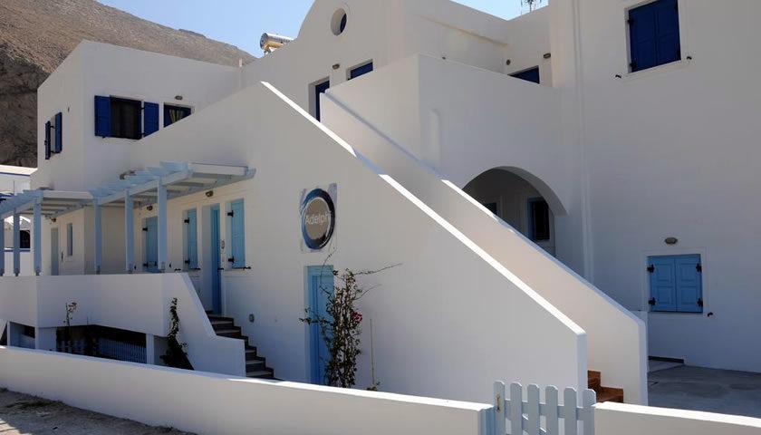 Adelphi Apartments, Perissa, Santorini