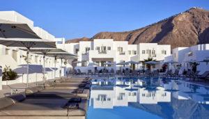 Aqua Blue Hotel, Perissa, Santorini