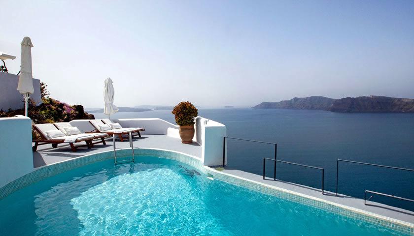Ikies Traditional Houses, Oia, Santorini