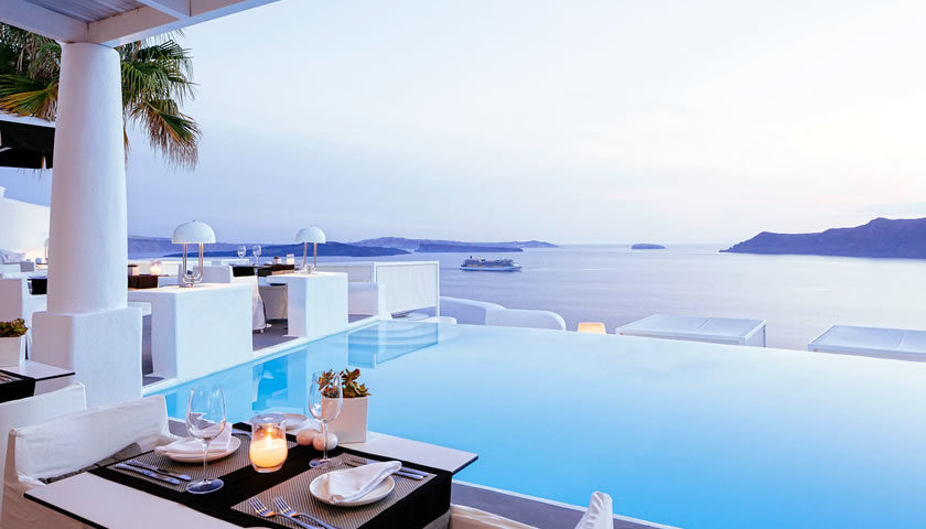 Kirini Suites and Spa, Oia, Santorini