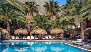 Meltemi Village Hotel, Perissa, Santorini