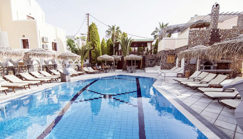 Polydefkis Apartments, Kamari, Santorini