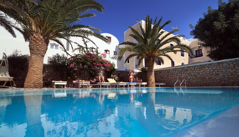 Sellada Beach Hotel, Perissa, Santorini