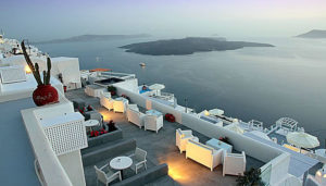 Sunset Hotel, Firostefani, Santorini