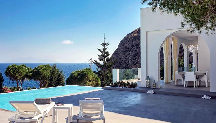 Villa Adrali, Kamari, Santorini