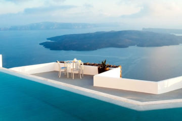 Santorini accommodation, hotels with great view