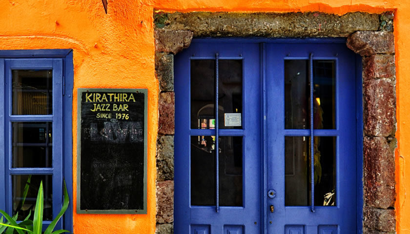 Kira Thira Jazz Bar, Fira, Santorini