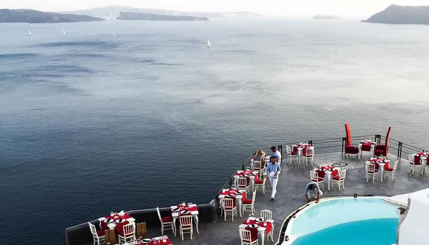 Lauda Restaurant, Oia, Santorini