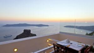 Mezzo Restaurant, Imerovigli, Santorini