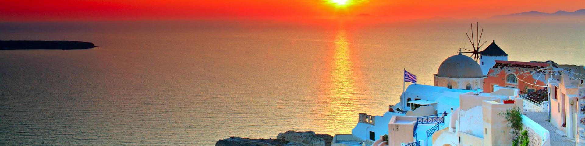 Santorini Famous Sunset