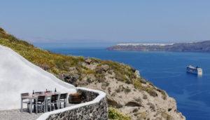 Venetsanos Winery, Megalochori, Santorini